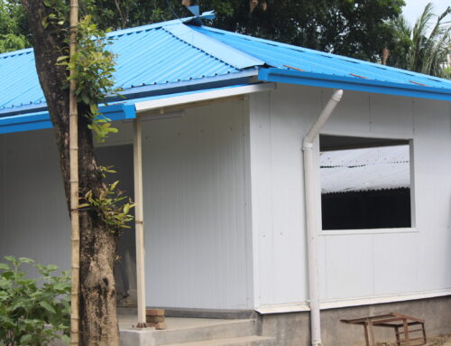Why you will make sandwich panel house?